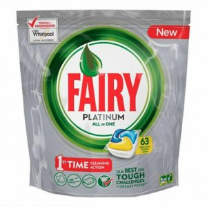 Jar kapsule (Fairy) 63ks Platinum Yelow Lemon