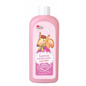 Pink Elephant Veverička Anička detský šampón na vlasy 500ml