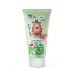 Pink Elephant Bobrík Peťo destká zubná pasta pre chlapcov 3-6rokov 50ml