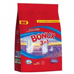 Bonux Lavender Color prací prášok 2kg na 20 praní