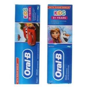 Oral-B detská zubná pasta Frozen/Cars 75ml
