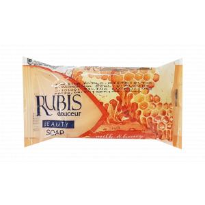 Rubis Honey toaletné mydlo 100g