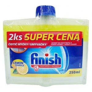 Finish čistič umývačky 2x250ml DUO Lemon