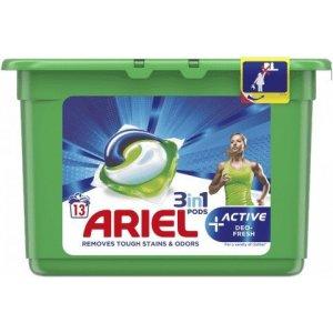 Ariel gel.tablety na pranie 13ks - Active-deo Fresh