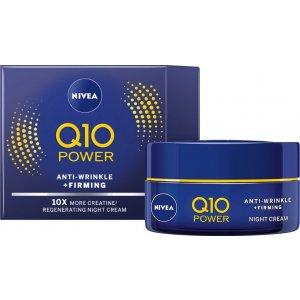 Nivea anti-wrinkle nočný pleťový krém Q10 Power 50ml