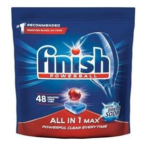 Finish All in 1 Max Baking Soda tablety do umývačky 48ks