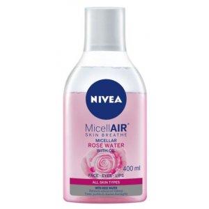 Nivea Dvojfázová micelárna voda s ružovou vodou 400 ml