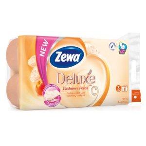 Zewa Deluxe Cashmere Peach toaletný papier 3-vrstvový 8ks