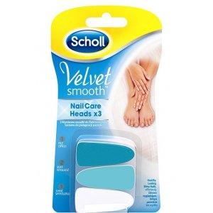 Scholl Velvet Smooth náhradné hlavice 3 ks