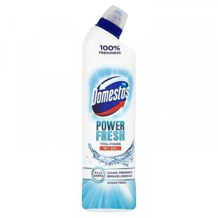 Domestos Ocean Fresh antibakteriálny WC čistič 700ml