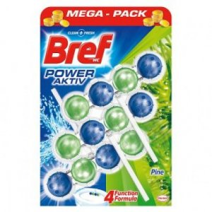 Bref Power Aktiv WC blok Pine 3x50g