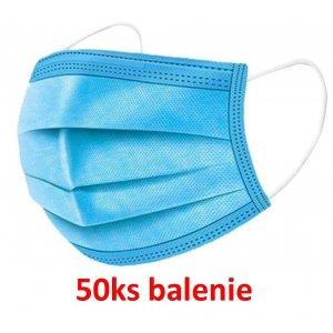 Jednorázové ochranné rúška 50ks