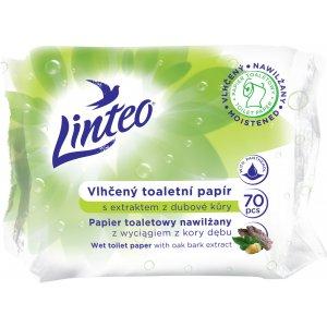 Linteo vlhčený toaletný papier 60ks Dubová kôra