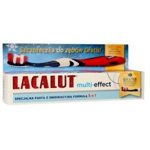 Lacalut multi-effect zubná pasta 75ml+zubná kefka