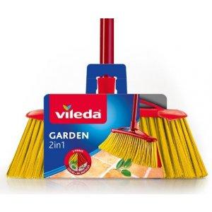 Vileda Garden 2v1 metla do záhrady 1ks