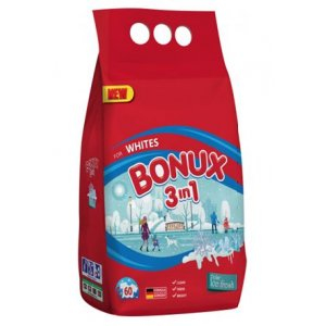 Bonux White Polar Ice Fresh 3vj prací prášok 6kg 60PD
