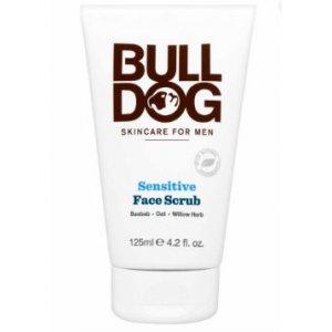 Bulldog pánsky čistiaci peeling na tvár 125ml Sensitive