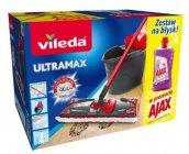 Vileda Ultramax complete set vedro+mop  2v1+Ajax 1L