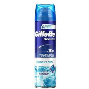 Gillette Series pánsky gél na holenie 200ml Sensitive Cool