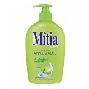 Mitia Apple & Aloe tekuté mydlo s dávkovačom 500ml