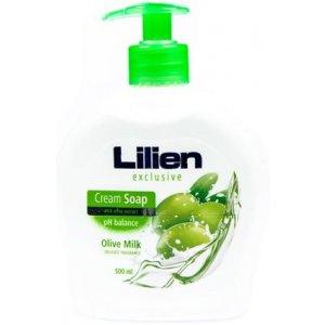 Lilien Olive Milk tekuté mydlo s dávkovačom 500ml