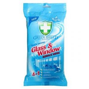 Greenshield Glass@Window 4v1 vlhčené obrúsky 70ks