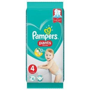 Pampers Pants plienkové nohavičky 9-15kg veľ.4; 4ks