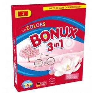 Bonux Colors Pure Magnolia prací prášok 400g na 4 prania
