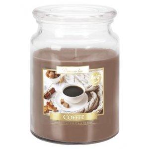 Bispol Coffee sviečka v skle s viečkom SND99-89  Doba horenia: cca 100 hodín Výška: 14cm Priemer: 9,9cm