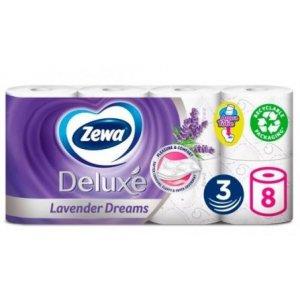 Zewa Deluxe Lavender toaletný papier 3-vrstvový 8ks