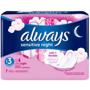 Always Ultra Sensitive Night 7ks