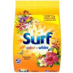 Surf Color&White Hawaian Dream prací prášok 3,9kg na 60 praní