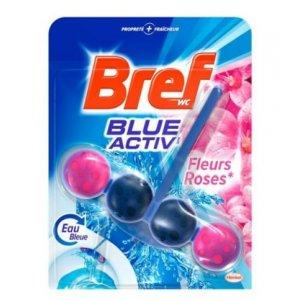 Bref Blue Aktiv Fleurs Roses 1x50g