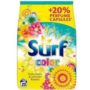 Surf Fruity Fiesta&Summer Flowers prací prášok 1,3kg na 20 praní