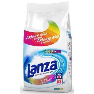 Lanza Fresh & Clean Color prací prášok 6,3kg na 90 praní