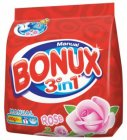 Bonux Rose prací prášok na ručné pranie 400g na 7 praní