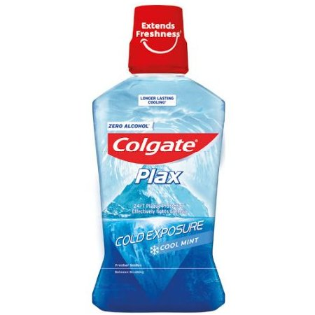 Colgate Plax Cool Mint Cold Exposure ústna voda 500ml