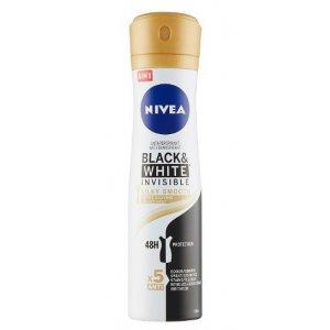 Nivea B&W Invisible Silky Smooth dámsky deodorant 150ml