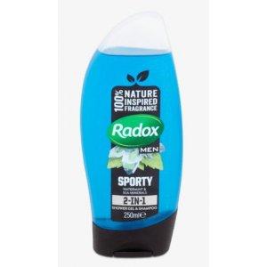 Radox Sporty pánsky sprchový gél 250ml