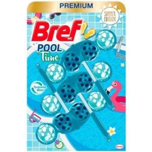 Bref Color Aktiv Pool Time záveska do WC 3x50g