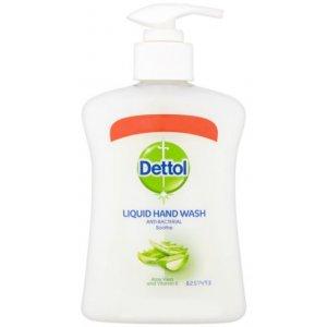 Dettol Moisture Aloe Vera antibakteriálne tekuté mydlo 250ml