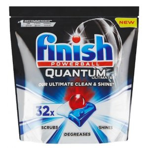 Finish Quantum Ultimate tablety do umývačky 32ks Regular