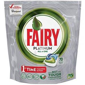 Jar Fairy Platinum All in 1 kapsule do umývačky 70ks