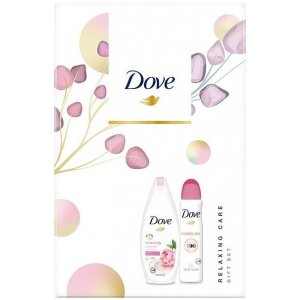 Dove Relaxing Care dámsky darčekový set 2ks