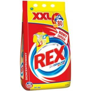 Rex prací prášok 6kg na 80 praní Color