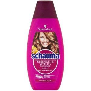 Schauma Strength Vitality šampón 400ml