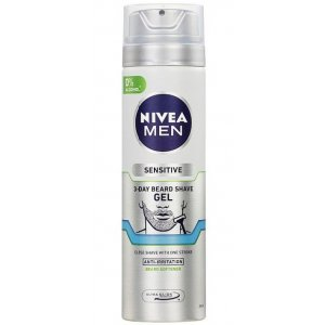 Nivea Sensitive 3 Day Beard pánsky gél na holenie 200ml