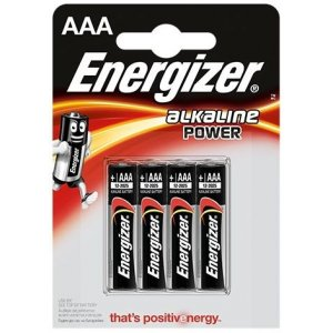 Energizer Alkaline Power AAA 4ks