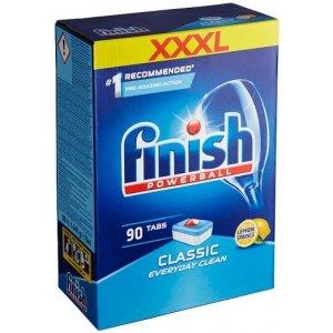 Finish Powerball Classic Lemon tablety do umývačky riadu 90 ks