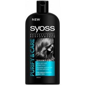 Syoss Purity & Care šampón 500ml